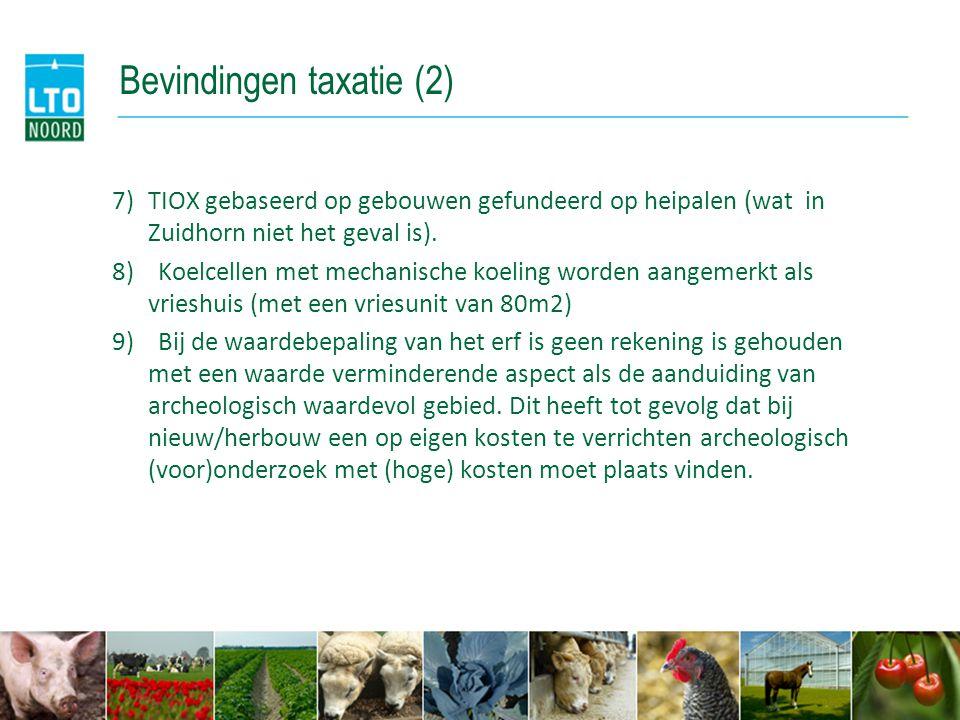 Bevindingen taxatie (2)