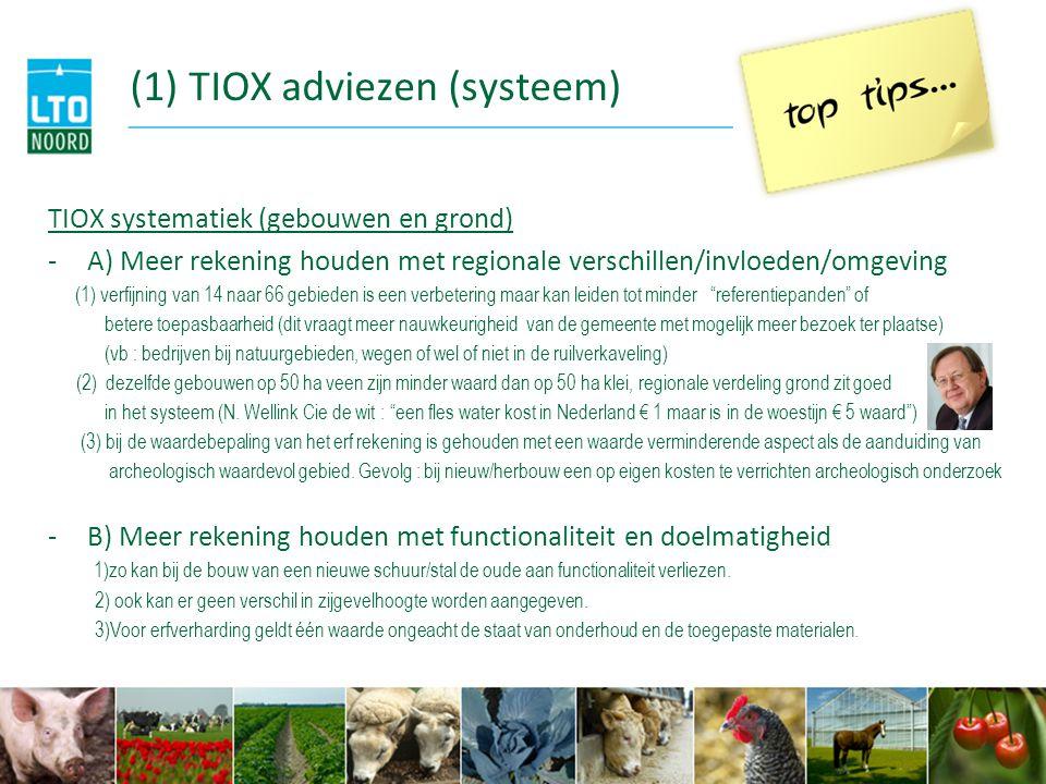 (1) TIOX adviezen (systeem)