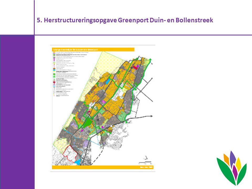 5. Herstructureringsopgave Greenport Duin- en Bollenstreek