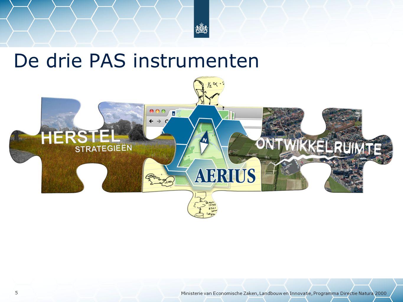 De drie PAS instrumenten
