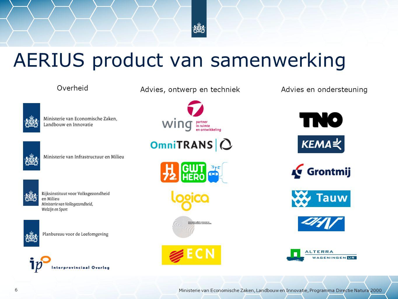 AERIUS product van samenwerking