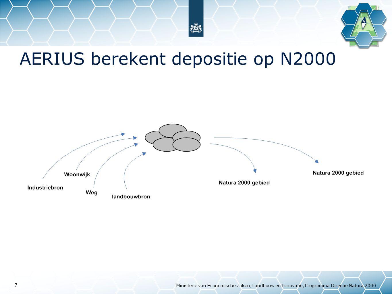 AERIUS berekent depositie op N2000