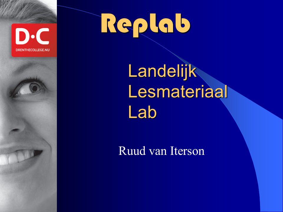RepLab Landelijk Lesmateriaal Lab
