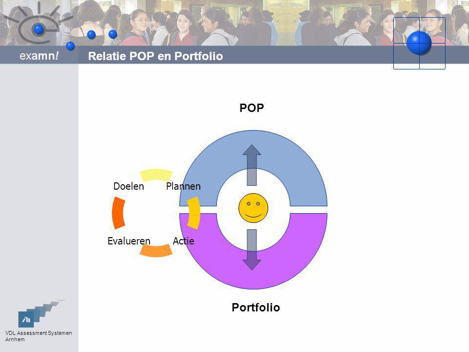 Relatie POP en Portfolio