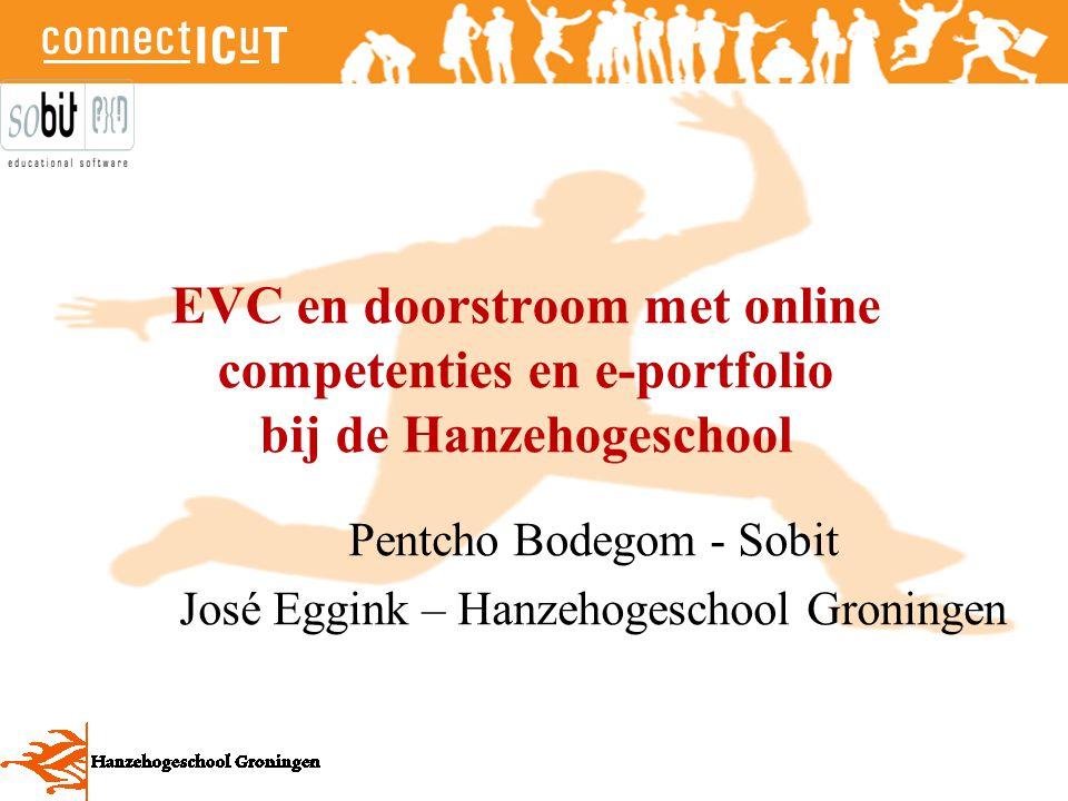 Pentcho Bodegom - Sobit José Eggink – Hanzehogeschool Groningen