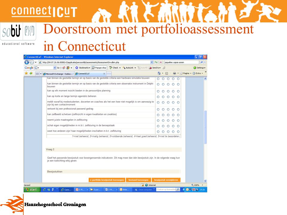 Doorstroom met portfolioassessment in Connecticut