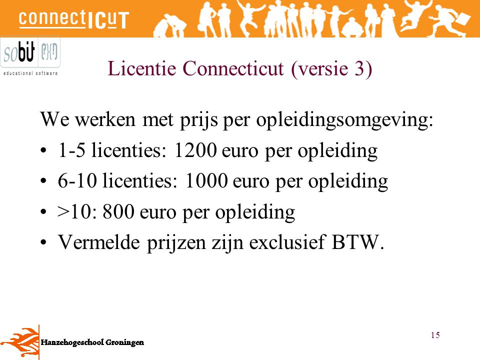 Licentie Connecticut (versie 3)