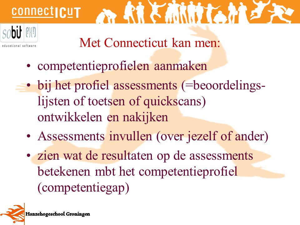 Met Connecticut kan men: