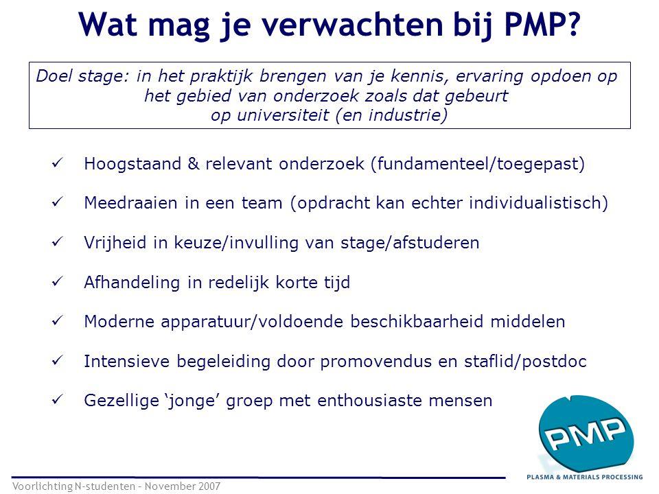 Wat mag je verwachten bij PMP