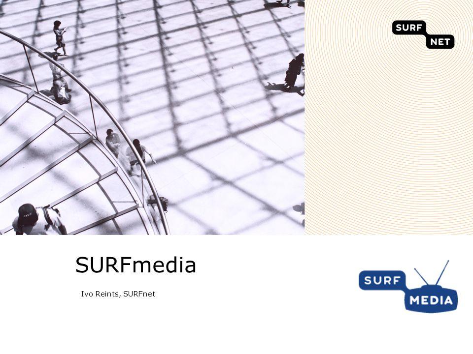 De SURF familie De samenwerkingsorganisatie De intermediair tussen