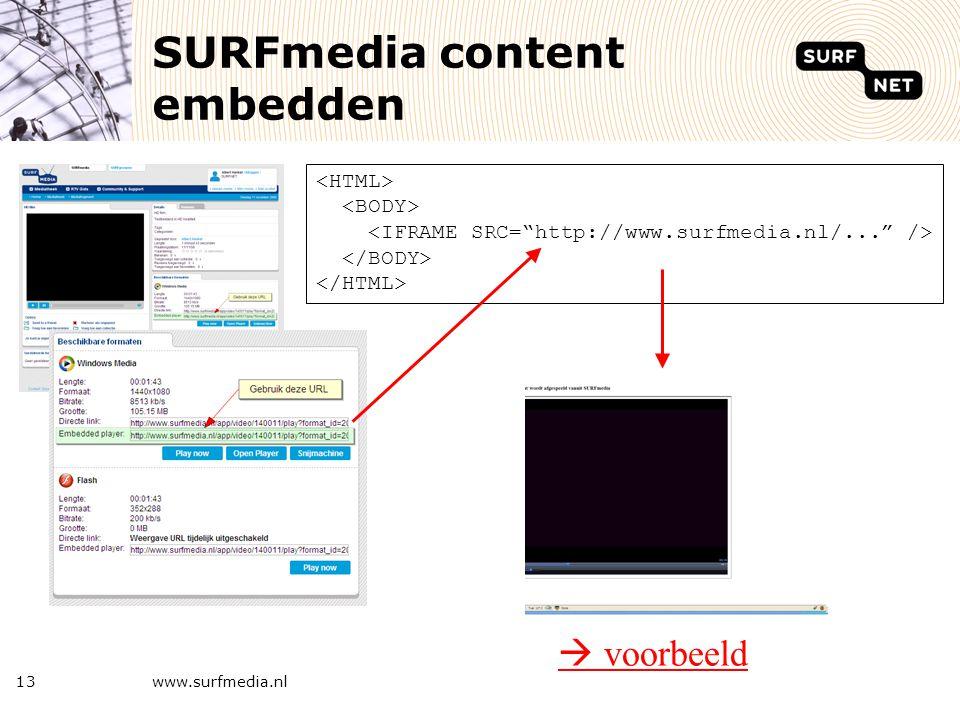 Vragen www.surfmedia.nl