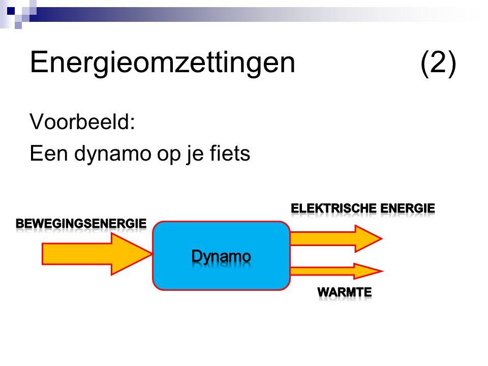 Energieomzettingen (2)