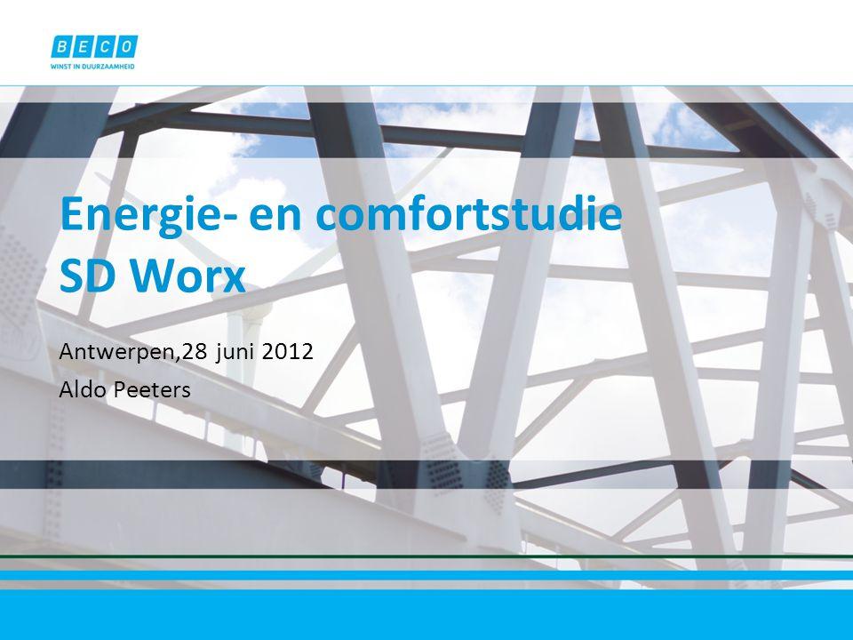 Energie- en comfortstudie SD Worx