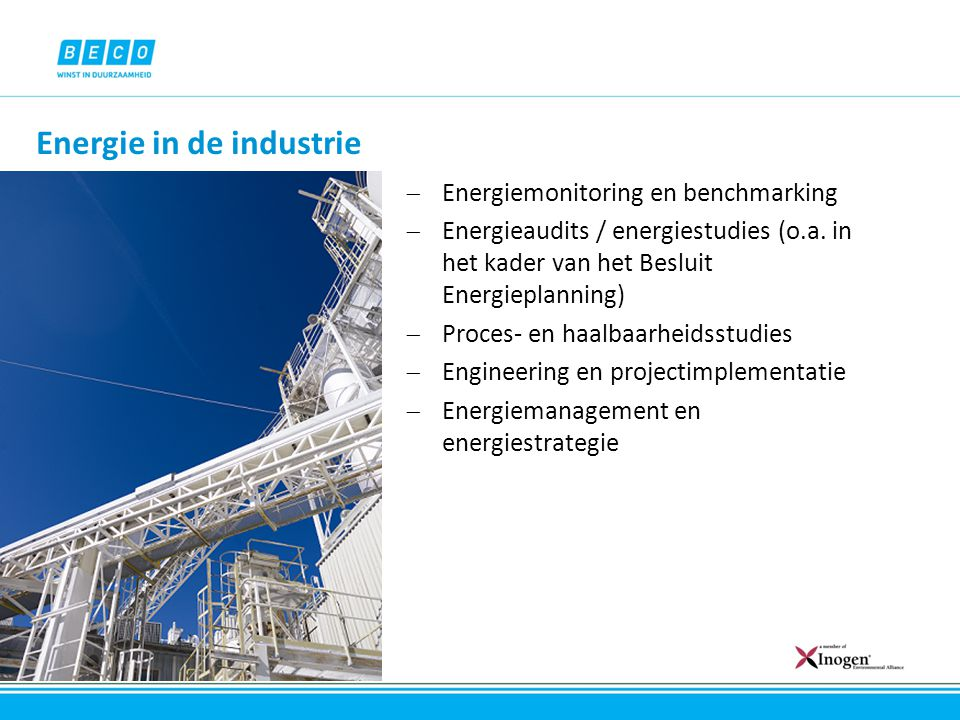 Energie in de industrie