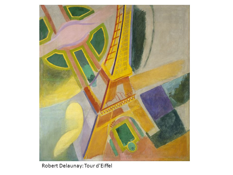 Robert Delaunay: Tour d'Eiffel