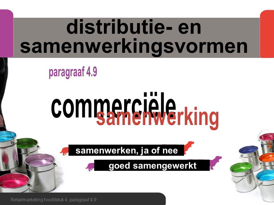 distributie- en samenwerkingsvormen