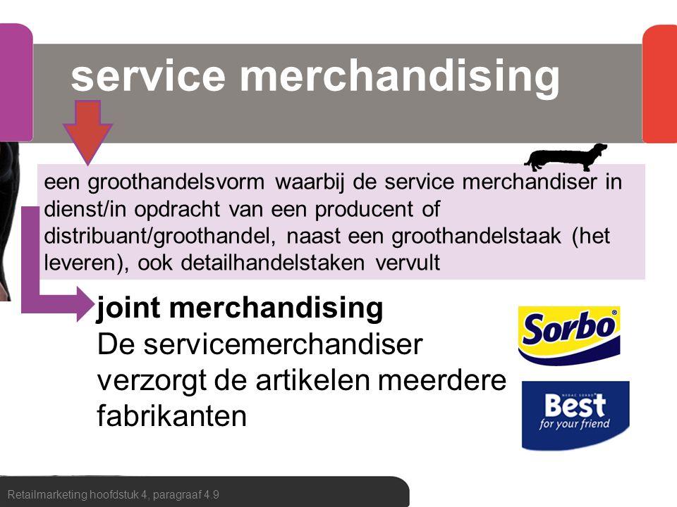 service merchandising