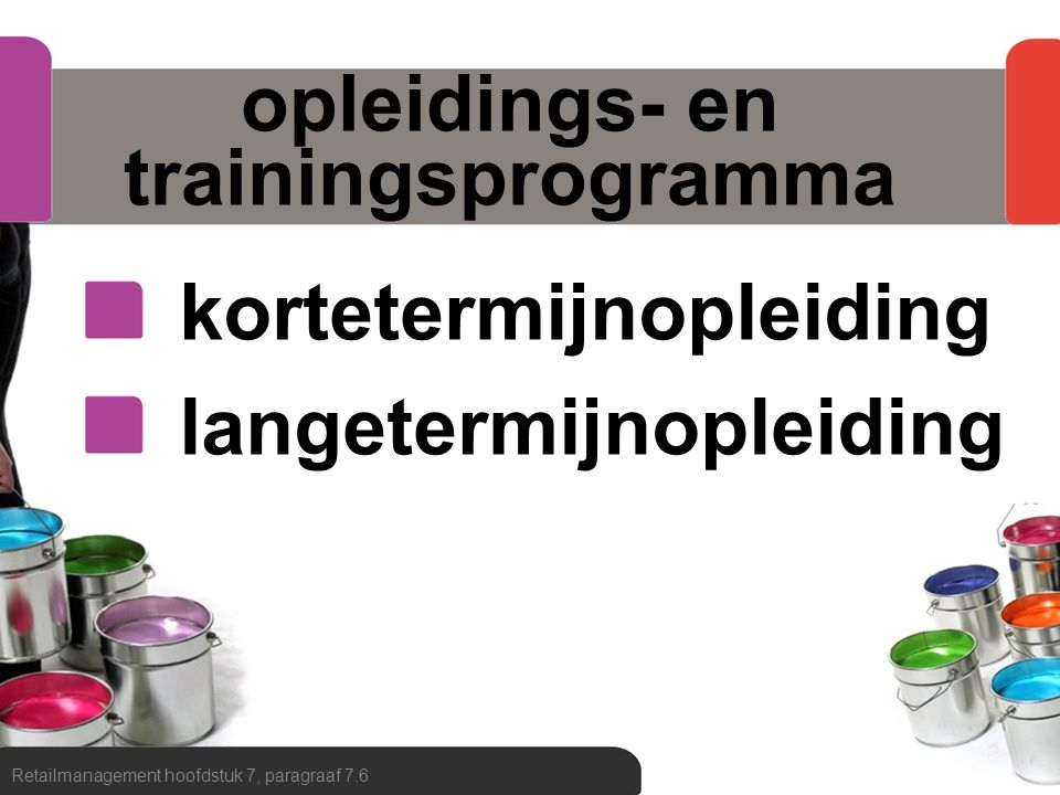 opleidings- en trainingsprogramma