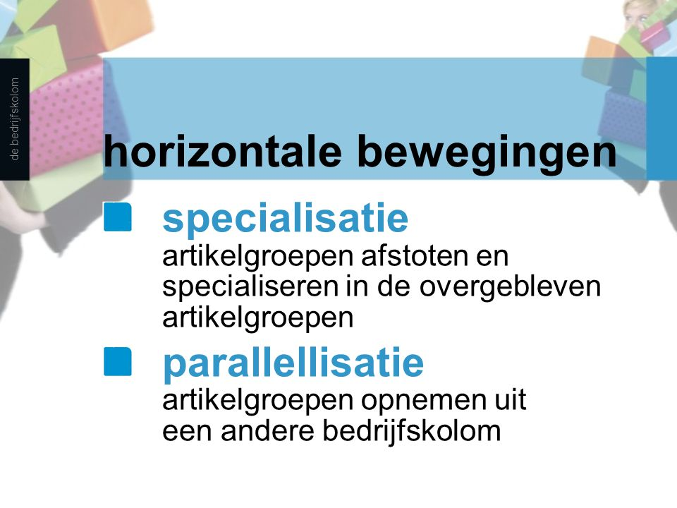 horizontale bewegingen