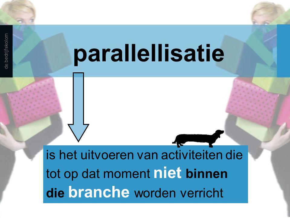 parallellisatie de bedrijfskolom.