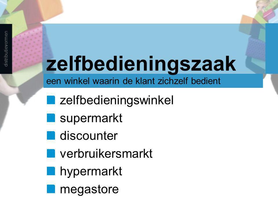 zelfbedieningszaak zelfbedieningswinkel supermarkt discounter