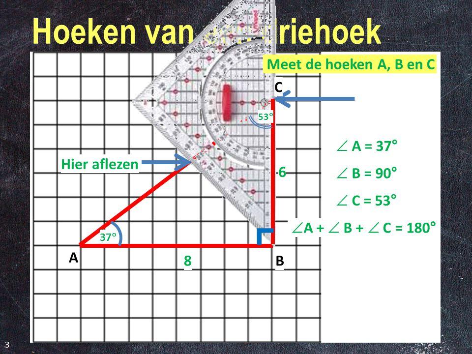 Hoeken van een driehoek