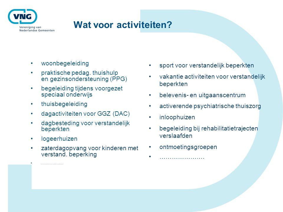 Wat voor activiteiten sport voor verstandelijk beperkten