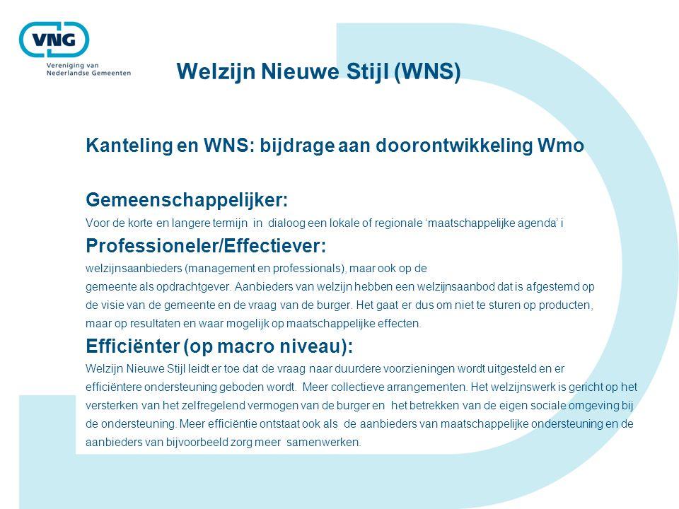 Welzijn Nieuwe Stijl (WNS)