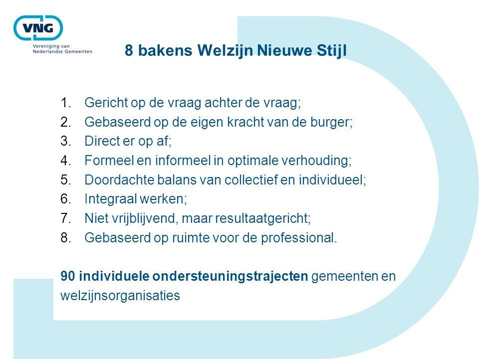 8 bakens Welzijn Nieuwe Stijl