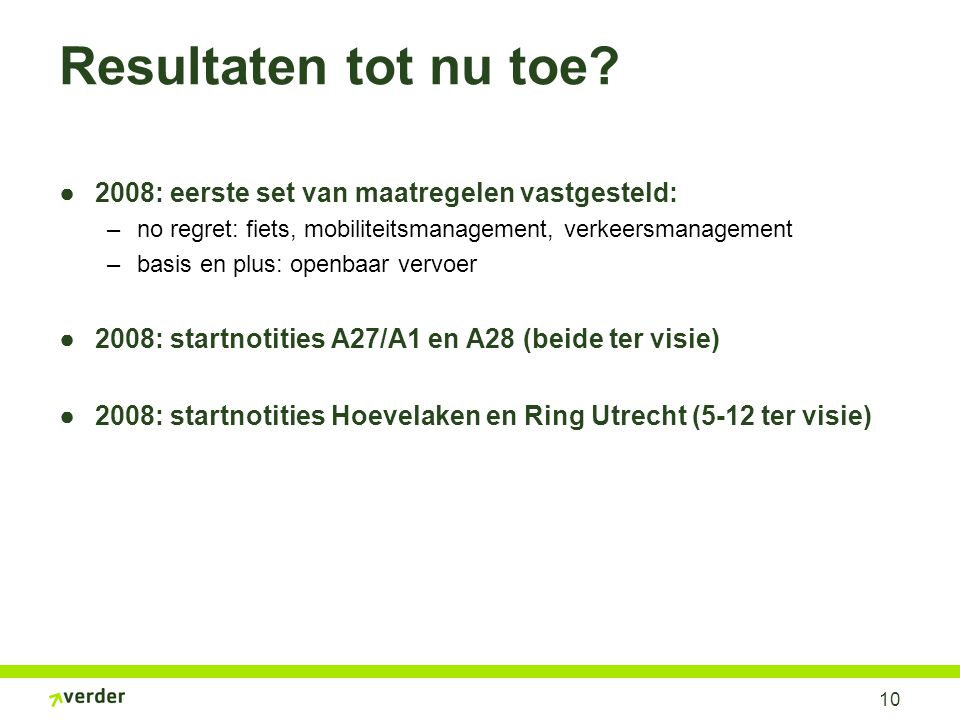 Startnotitie A1/A27