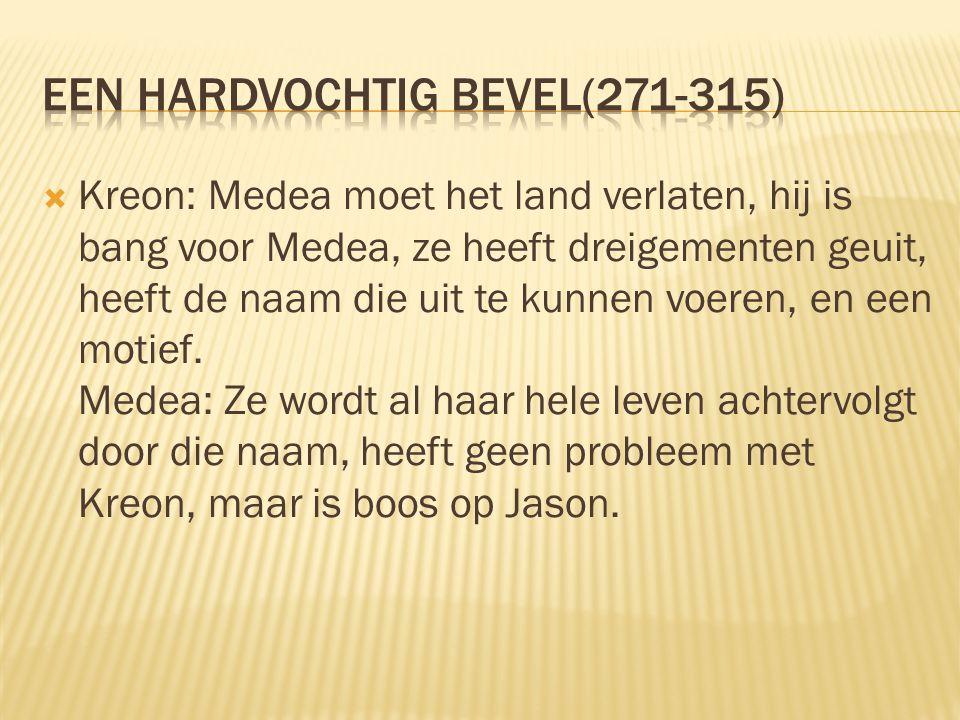 Een hardvochtig bevel(271-315)