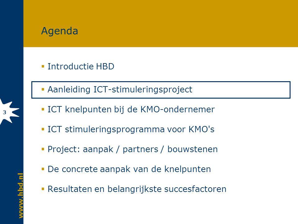 Aanleiding voor ICT-stimuleringsproject bij KMO s in detailhandel
