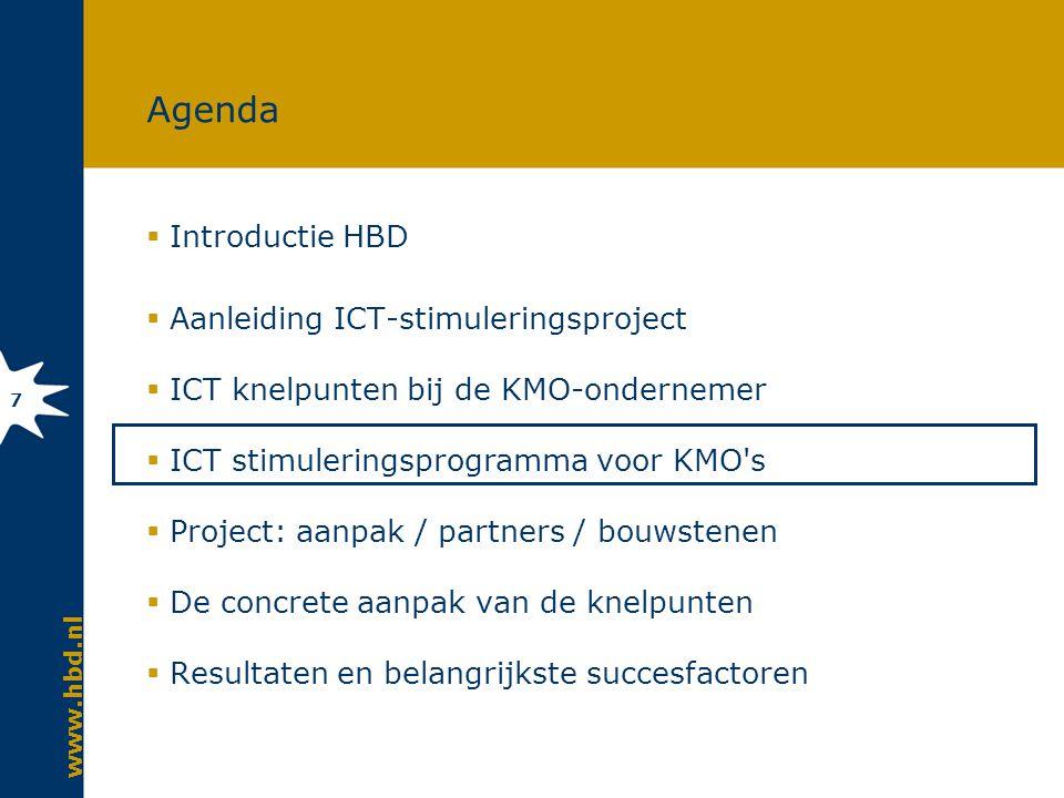 ICT stimuleringsprogramma voor KMO s Over De Digitale Drempel (O3D) en daarna…