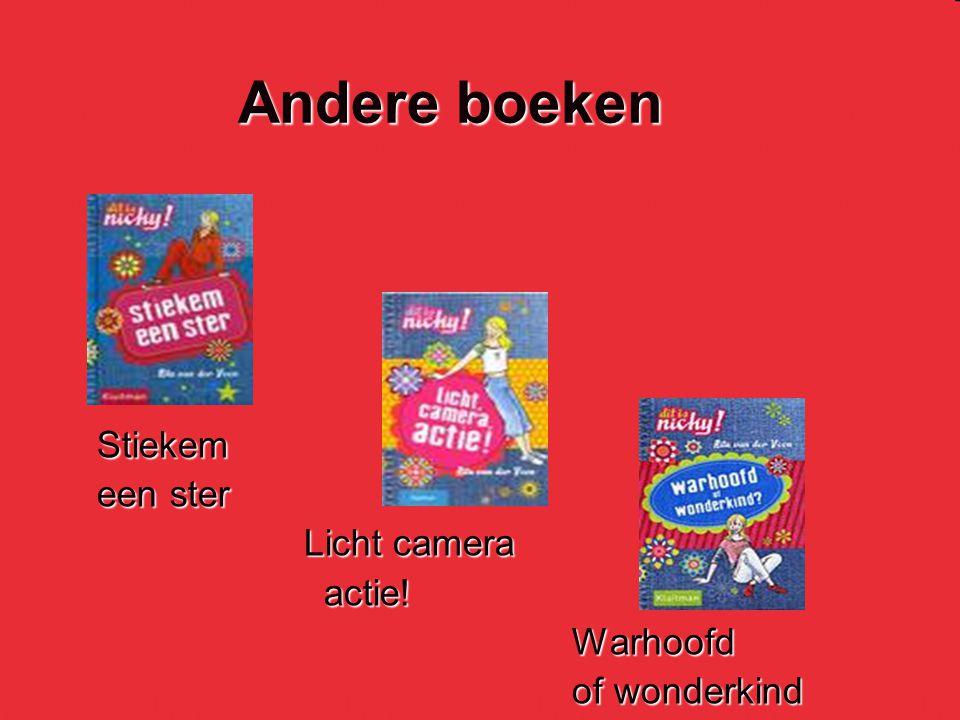 Andere boeken Stiekem een ster Licht camera actie! Warhoofd