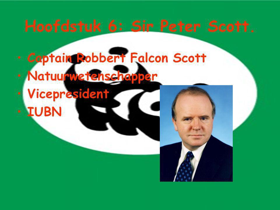 Hoofdstuk 6: Sir Peter Scott.