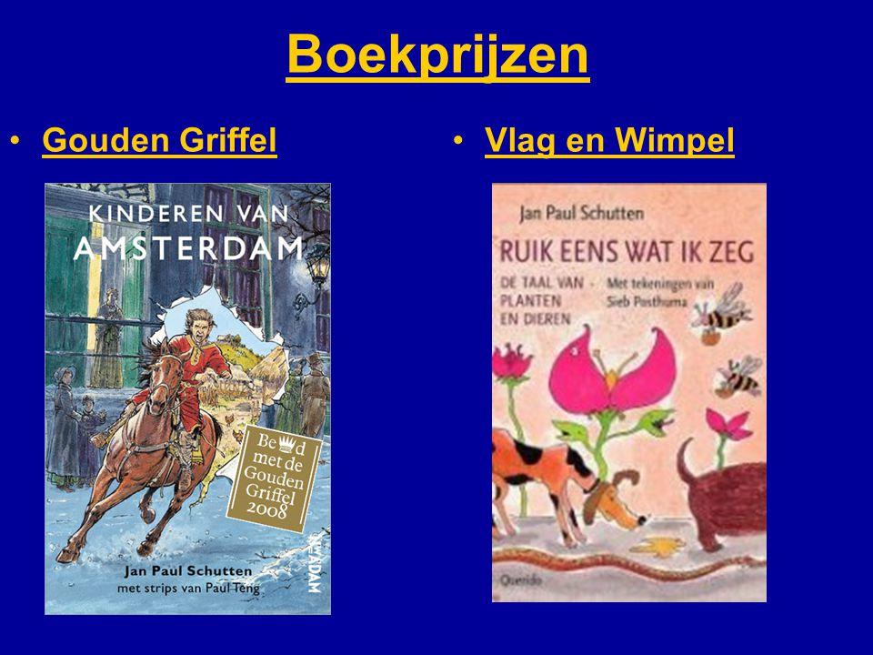 Boekprijzen Gouden Griffel Vlag en Wimpel Kinderen van Amsterdam