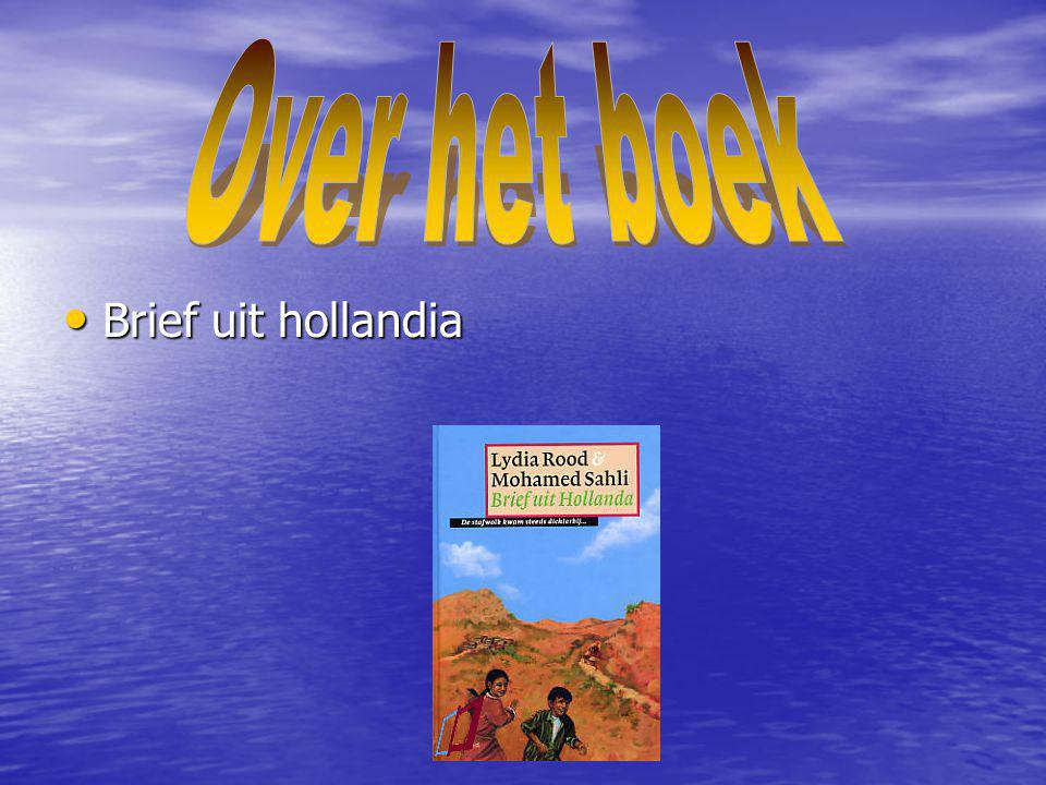 Over het boek Brief uit hollandia
