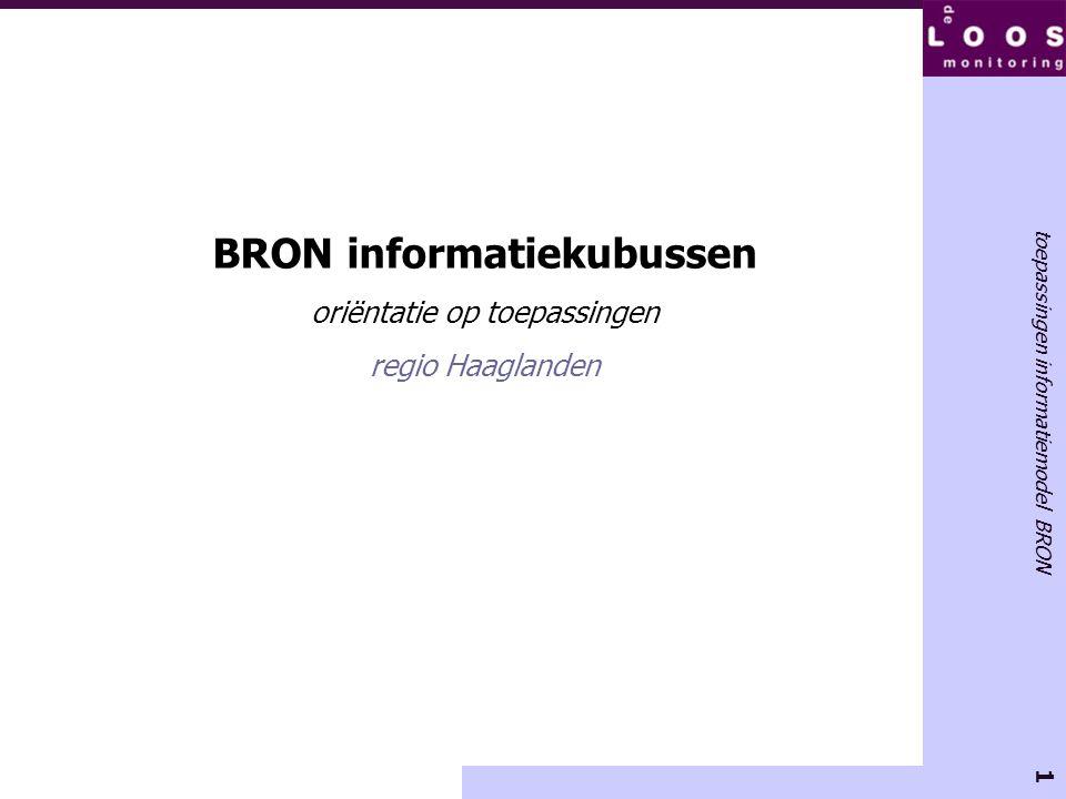 BRON informatiekubussen