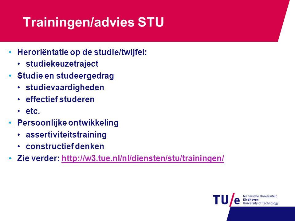 Trainingen/advies STU