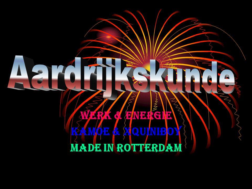Werk & energie Kamoe & xQuiniboy Made in Rotterdam