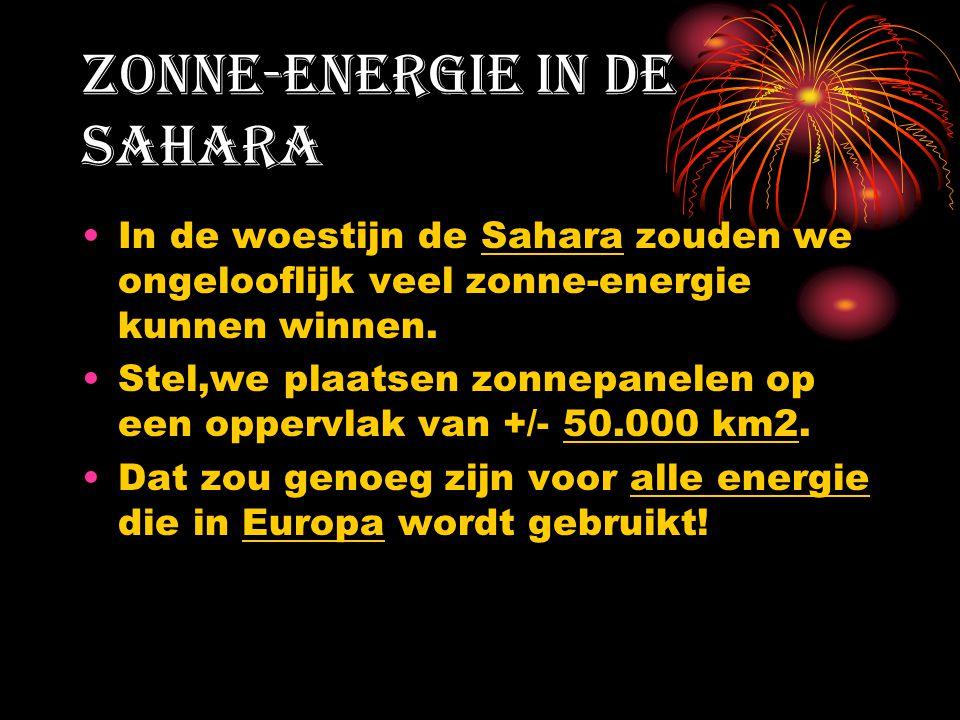 Zonne-energie in de Sahara