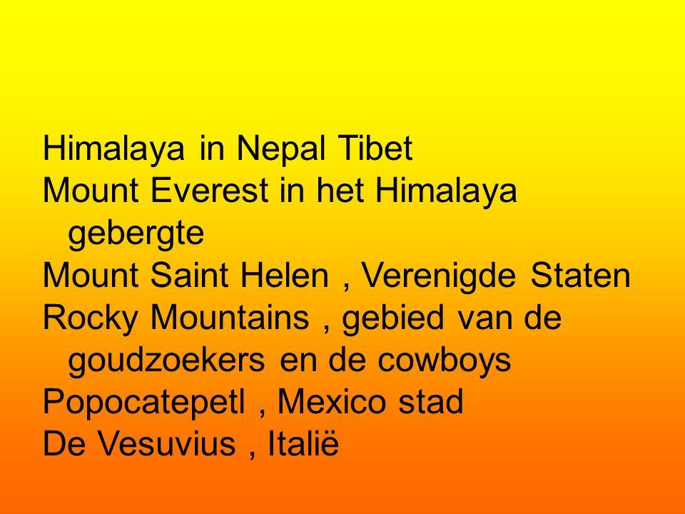 Himalaya in Nepal Tibet