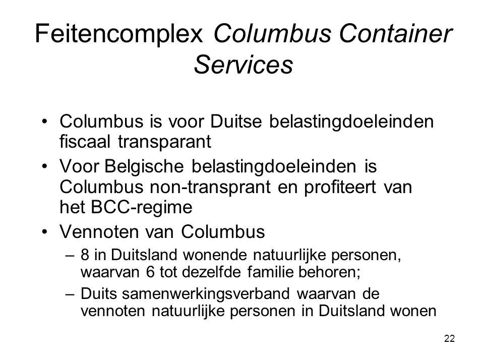 Feitencomplex Columbus Container Services