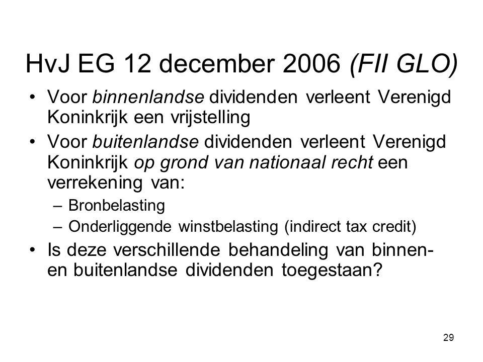 HvJ EG 12 december 2006 (FII GLO)