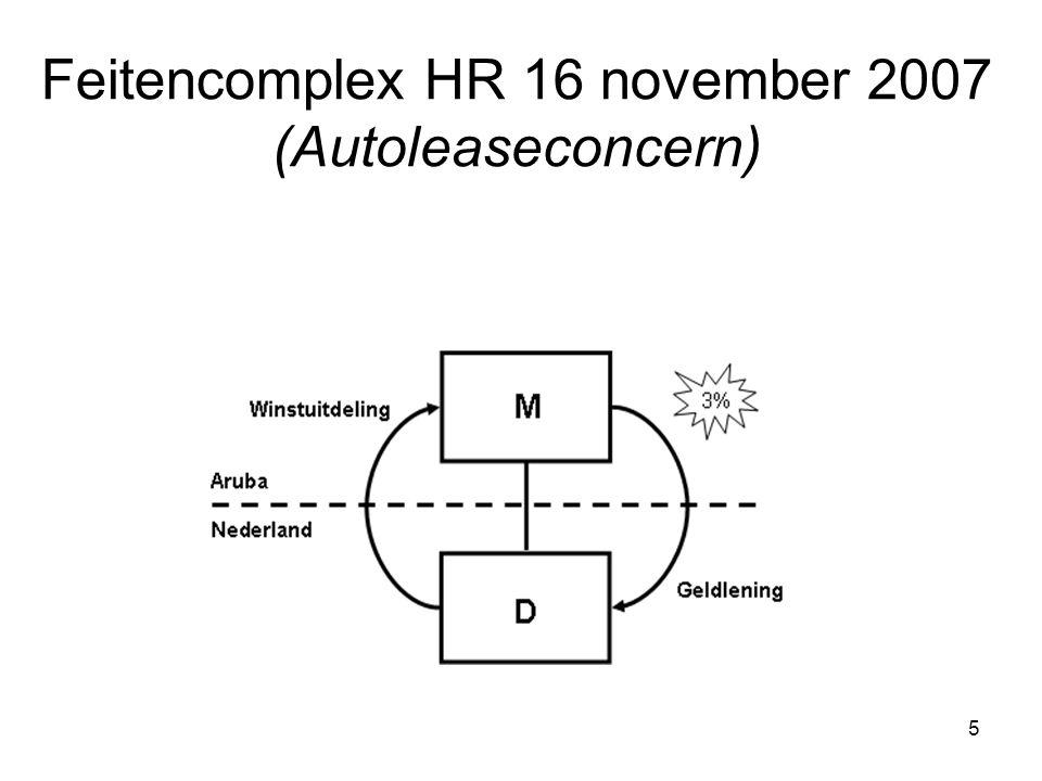 Feitencomplex HR 16 november 2007 (Autoleaseconcern)