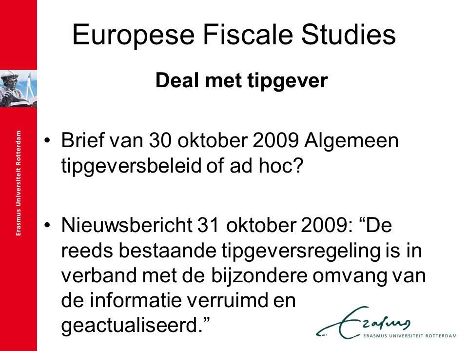 Europese Fiscale Studies