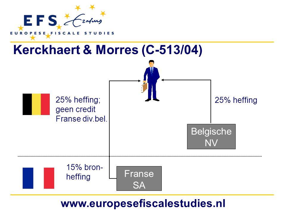 Kerckhaert & Morres (C-513/04)