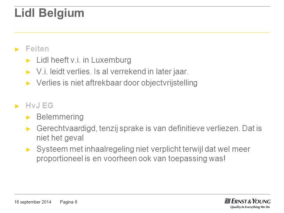 Lidl Belgium Feiten Lidl heeft v.i. in Luxemburg