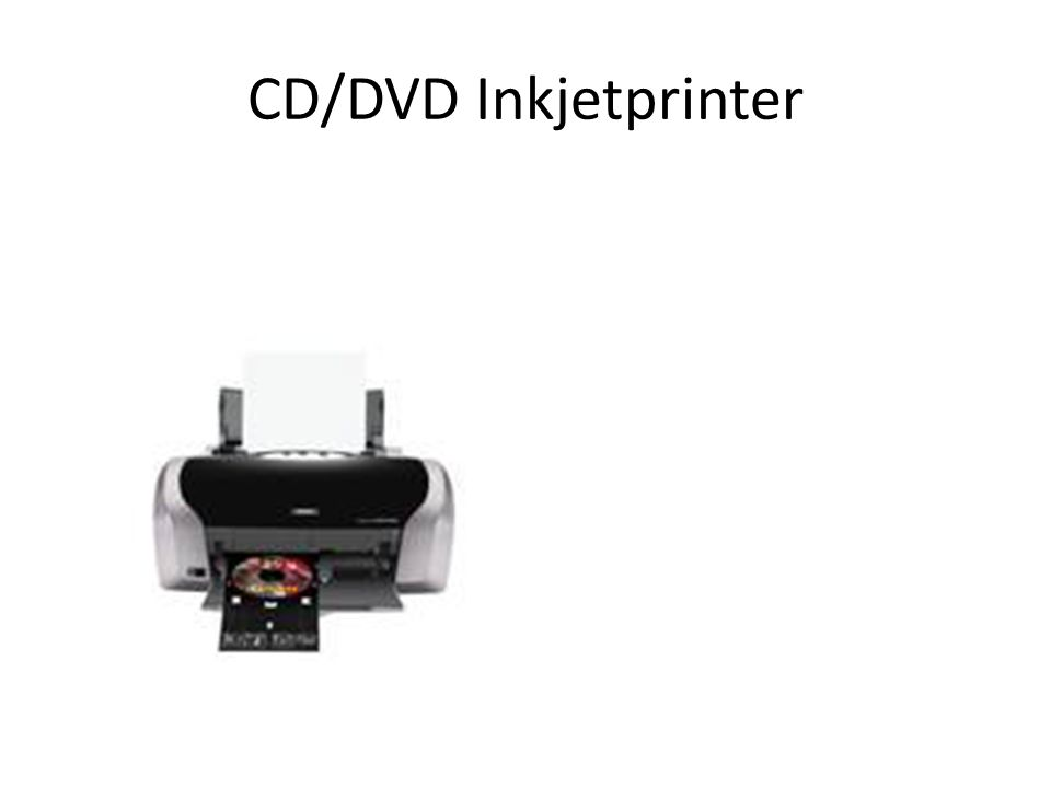 CD/DVD Inkjetprinter