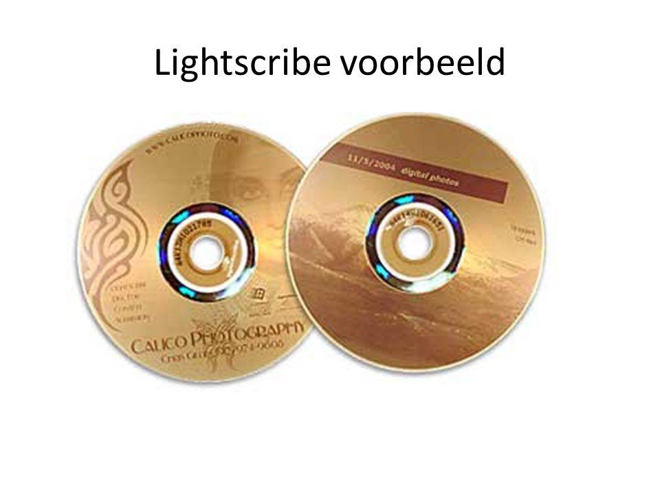 Lightscribe voorbeeld